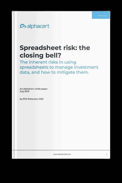 Spreadsheet risks
